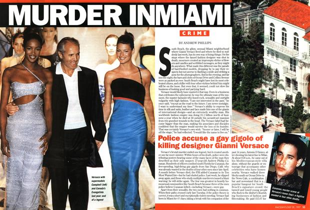 Article Preview: MURDER IN MIAMI, July 1997 | Maclean's