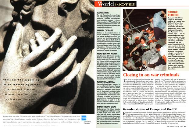 Article Preview: World NOTES, July 1997 | Maclean's