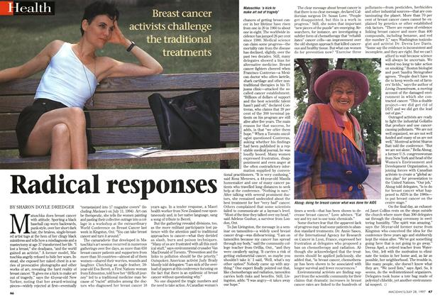 Article Preview: Radical responses, July 1997 | Maclean's