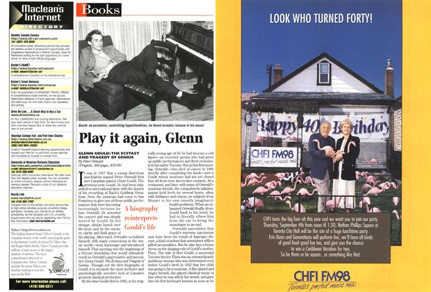 Article Preview: Play it again, Glenn, July 1997 | Maclean's