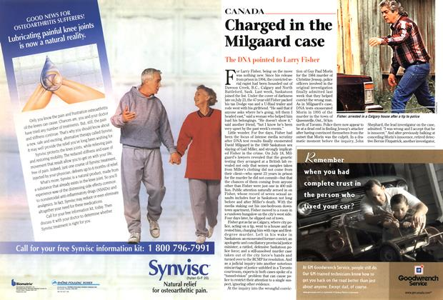 Article Preview: Charged in the Milgaard case, August 1997 | Maclean's