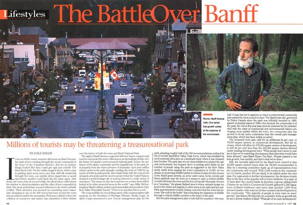 Article Preview: The Battle Over Banff, August 1997 | Maclean's