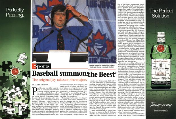 Article Preview: Baseball summons the Beest', August 1997 | Maclean's