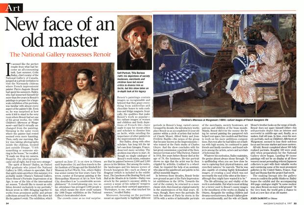 Article Preview: New face of an old master, August 1997 | Maclean's