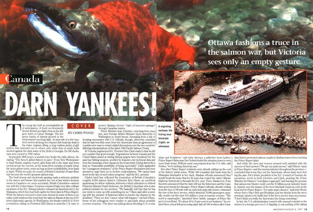 Article Preview: DARN YANKEES!, August 1997 | Maclean's