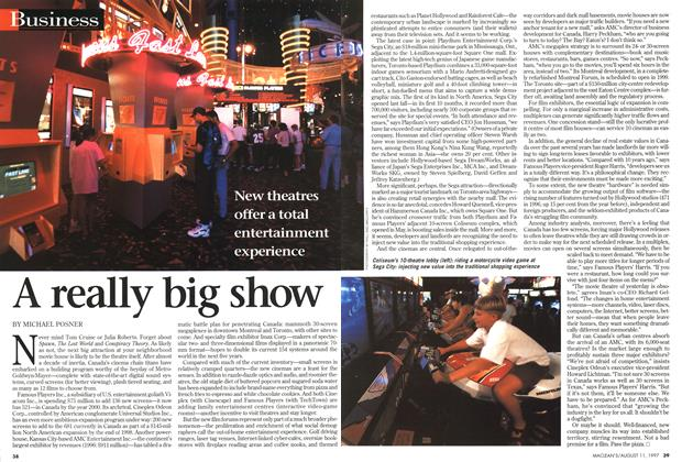 Article Preview: A really big show, August 1997 | Maclean's