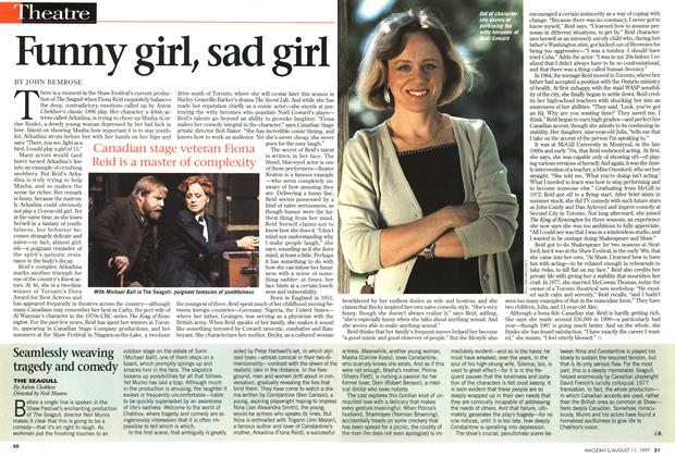 Article Preview: Funny girl, sad girl, August 1997 | Maclean's