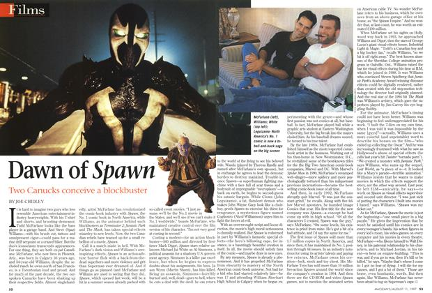 Article Preview: Dawn of Spawn, August 1997 | Maclean's
