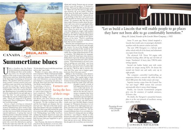 Article Preview: Summertime blues, August 1997 | Maclean's