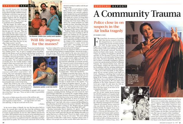 Article Preview: A Community Trauma, August 1997 | Maclean's