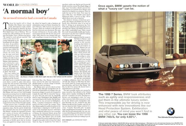 Article Preview: 'A normal boy', August 1997 | Maclean's