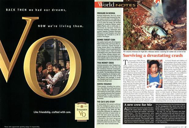 Article Preview: World NOTES, August 1997 | Maclean's