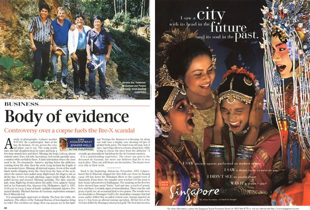 Article Preview: Body of evidence, August 1997 | Maclean's