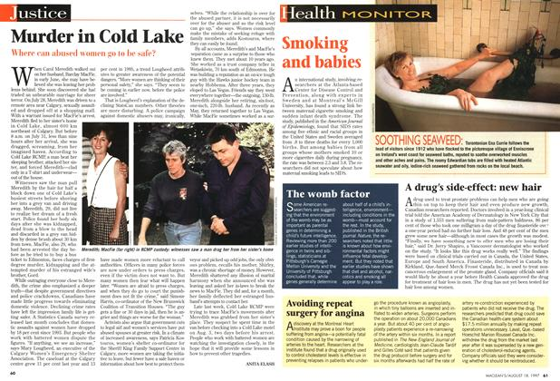Article Preview: Murder in Cold Lake, August 1997 | Maclean's