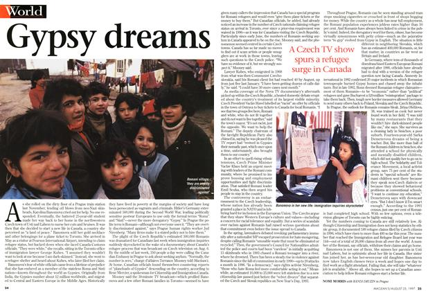 Article Preview: Gypsy dreams, August 1997 | Maclean's
