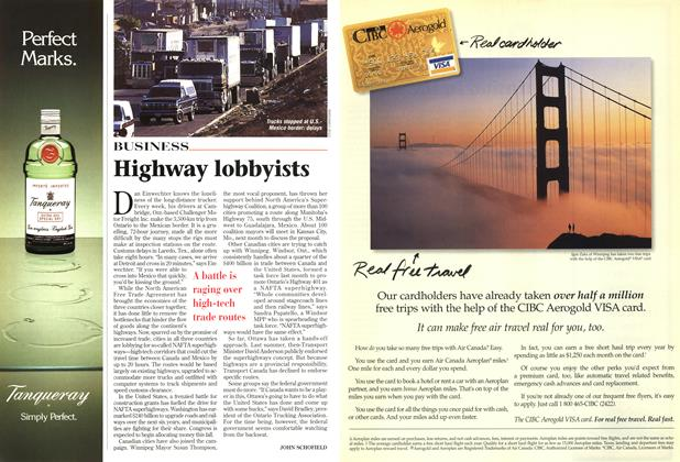 Article Preview: Highway lobbyists, August 1997 | Maclean's