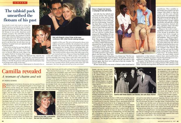 Article Preview: Camilla revealed, August 1997 | Maclean's