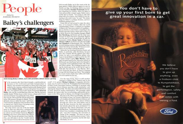 Article Preview: People, August 1997 | Maclean's