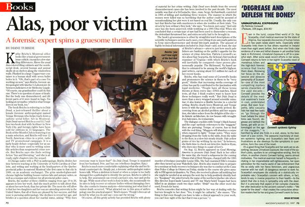 Article Preview: Alas, poor victim, August 1997 | Maclean's