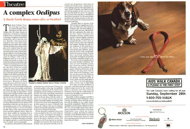 Article Preview: A complex Oedipus, August 1997 | Maclean's