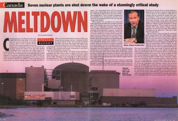 Article Preview: MELTDOWN, August 1997 | Maclean's