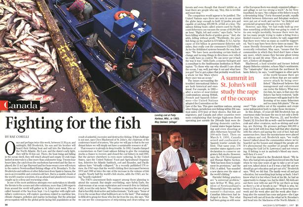 Article Preview: Fighting for the fish, September 1997 | Maclean's