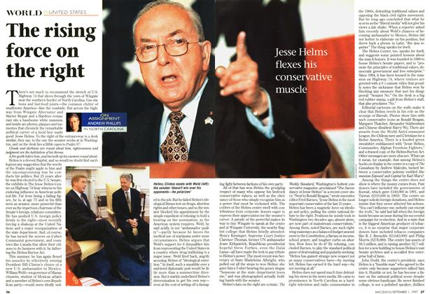 Article Preview: The rising force on the right, September 1997 | Maclean's