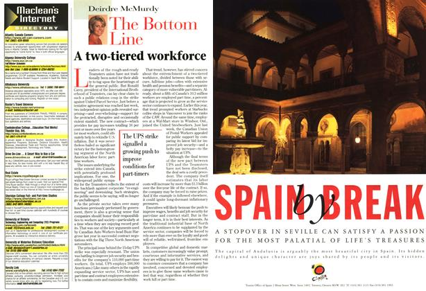 Article Preview: A two-tiered workforce, September 1997 | Maclean's