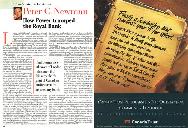 Article Preview: How Power trumped the Royal Bank, September 1997 | Maclean's