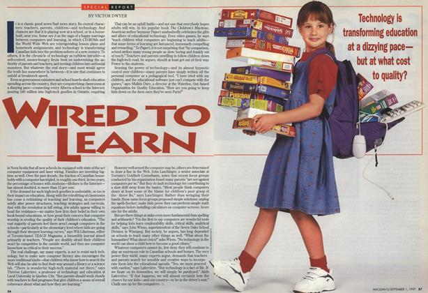 Article Preview: WIRED TO LEARN, September 1997 | Maclean's