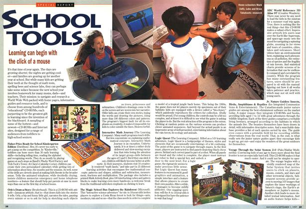 Article Preview: SCHOOL TOOLS, September 1997 | Maclean's
