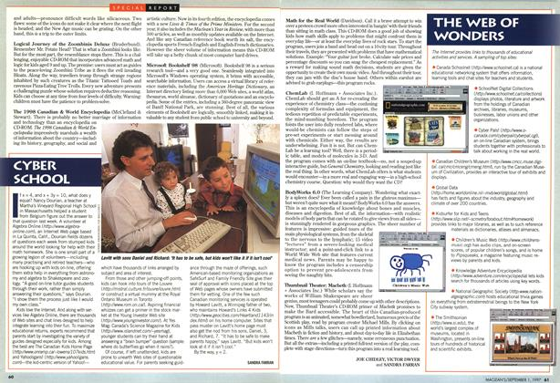 Article Preview: CYBER SCHOOL, September 1997 | Maclean's
