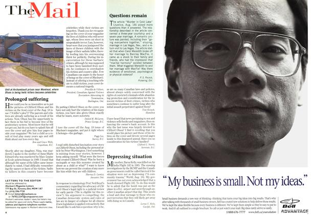 Article Preview: The Mail, September 1997 | Maclean's