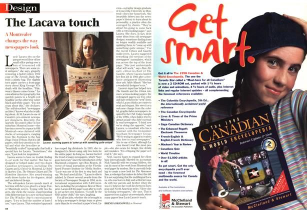Article Preview: The Lacava touch, September 1997   Maclean's