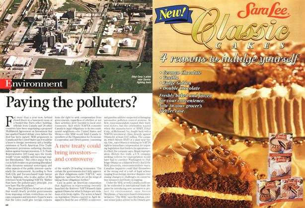 Article Preview: Paying the polluters?, September 1997 | Maclean's