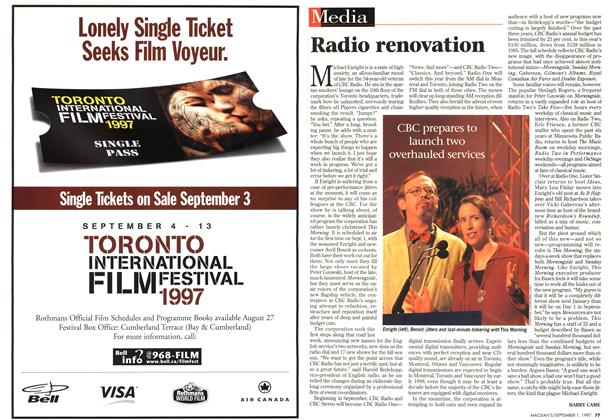Article Preview: Radio renovation, September 1997 | Maclean's