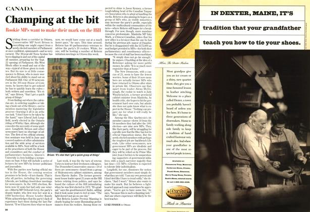 Article Preview: Champing at the bit, SEPTEMBER 8,1997 1997 | Maclean's