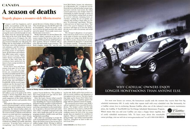 Article Preview: A season of deaths, SEPTEMBER 8,1997 1997 | Maclean's