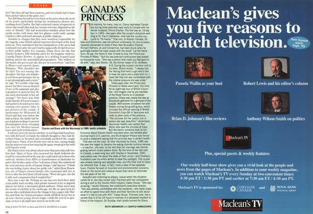 Article Preview: CANADA'S PRINCESS, SEPTEMBER 8,1997 1997 | Maclean's
