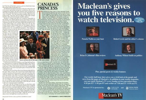 Article Preview: CANADA'S PRINCESS, SEPTEMBER 8,1997 1997 | Maclean's