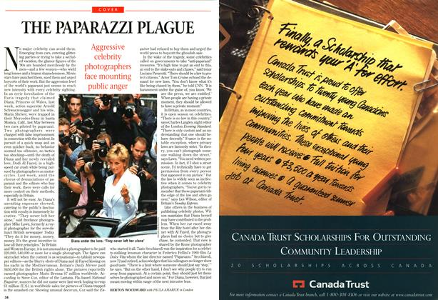 Article Preview: THE PAPARAZZI PLAGUE, SEPTEMBER 8,1997 1997 | Maclean's