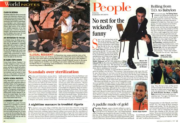 Article Preview: People, SEPTEMBER 8,1997 1997 | Maclean's