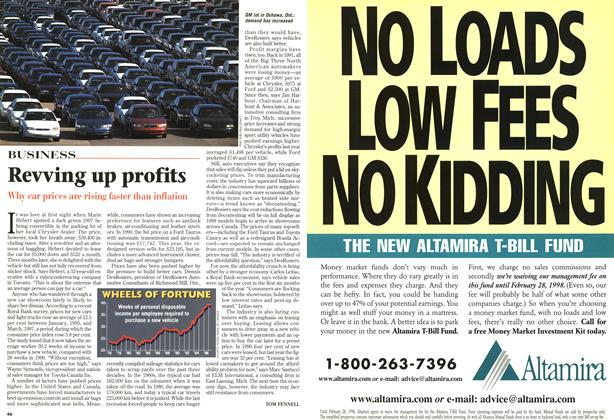 Article Preview: Revving up profits, SEPTEMBER 8,1997 1997 | Maclean's