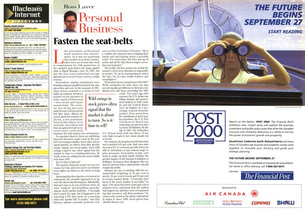 Article Preview: Personal Business, SEPTEMBER 8,1997 1997 | Maclean's