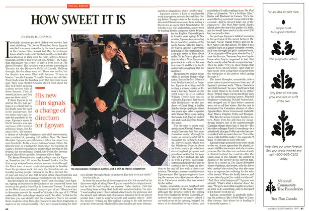 Article Preview: HOW SWEET IT IS, SEPTEMBER 8,1997 1997 | Maclean's
