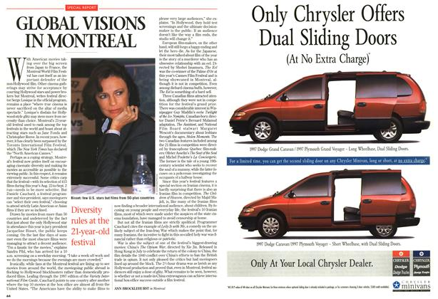 Article Preview: GLOBAL VISIONS IN MONTREAL, SEPTEMBER 8,1997 1997 | Maclean's