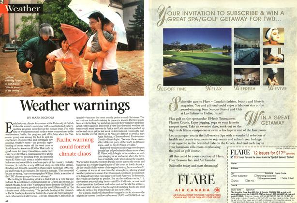 Article Preview: Weather warnings, SEPTEMBER 8,1997 1997 | Maclean's
