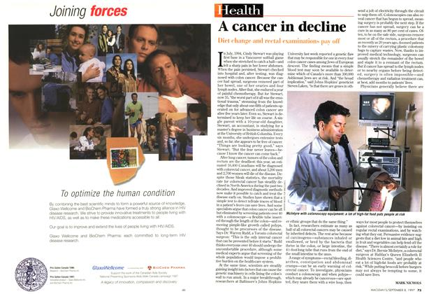 Article Preview: A cancer in decline, SEPTEMBER 8,1997 1997 | Maclean's