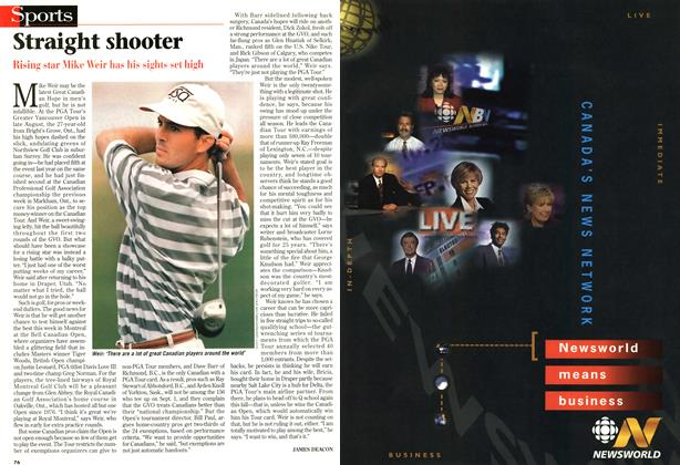 Article Preview: Straight shooter, SEPTEMBER 8,1997 1997 | Maclean's