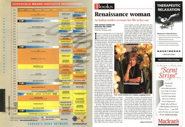 Article Preview: Renaissance woman, SEPTEMBER 8,1997 1997 | Maclean's
